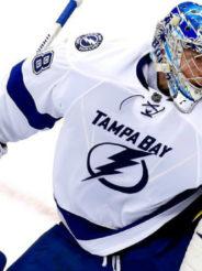 Василевский – первая звезда дня в NHL