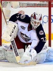 Бобровский – первая звезда игрового дня в NHL