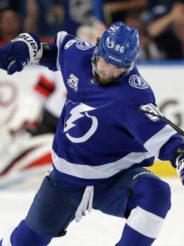 Кучеров – первый игрок, набравший 70 очков в NHL в сезоне